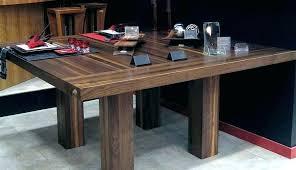 table cuisine bois massif table de cuisine bois table de cuisine en bois avec allonges