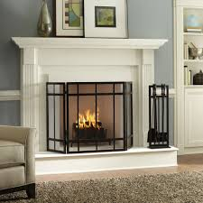 riveting fireplace design ideas in tile stacked stone fireplace