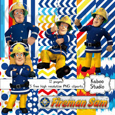 print papers decorations fireman sam kaboostudio elis