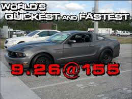 fastest stock mustang made s turbocharged coyote car 9 26 155 2011