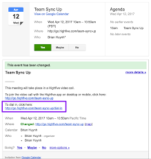 how to invite people to google calendar how to dial into highfive meetings using a phone u2013 highfive