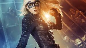 dc halloween background black canary dc