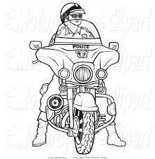 royalty free stock motorcycle designs of coloring book pages