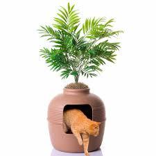 home accessories good pet stuff plant hidden litter box enclosure