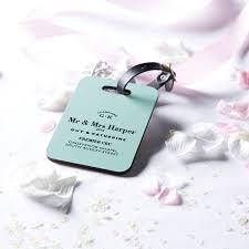 wedding luggage tags personalised wedding luggage tag wedding