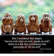 Evil Memes - 25 best memes about hear no evil hear no evil memes