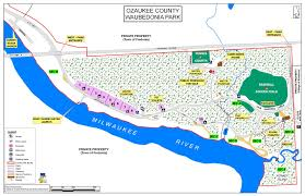 Map Of Wisconsin State Parks by Waubedonia Park Ozaukee County Wi Official Website