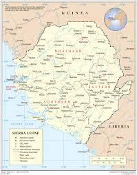 Senegal Map Sierra Leone Ebola Africa U0027s Response Guinea Liberia Mali