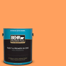 1 ga gallon behr premium plus oranges peaches paint colors