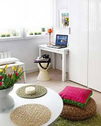Small Space Apartment Ideas Decorating Small Spaces Blending Colorful Home Accessories And