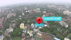 Calcutta India Map by Emami City Location Map Jessore Road Kolkata 91 33 4020 4020