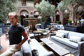 Patio Furniture Chicago Area A Peek Inside The New Restoration Hardware Concept In The Gold