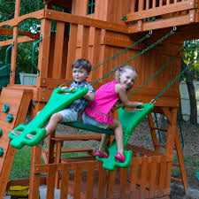 the valuable lessons playing on play sets teach kids