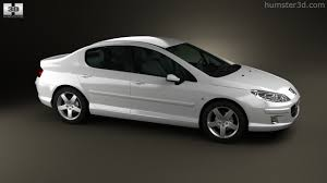 peugeot luxury sedan 360 view of peugeot 407 sedan 2004 3d model hum3d store
