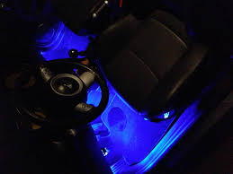Led Strip For Car Interior Led Foot Well Installation Connecting To The Dome Light Youtube