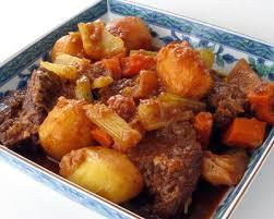 boeuf cuisiné recette poitrine de boeuf braisée