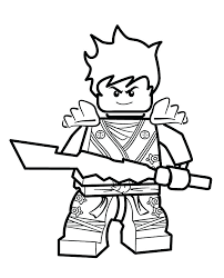 coloriage ninja lego  plintusinfo