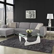 Living Room L Tables Modern Sofa L Shaped Leather Sectional Furniture Grey Living