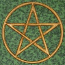 Pentacle Rug Pagan Life Symbols