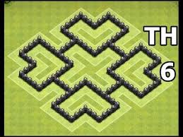 coc map layout th6 11 best clash of clans base layouts and tips images on pinterest