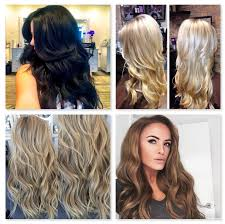 Best Clip In Hair Extensions For Thick Hair by Before U0026 After U2013 Cashmere Hair Clip In Extensions