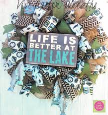 lake house wreath nautical burlap wreath lake house decor