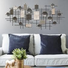metal wall design modern living large metal wall decor wayfair