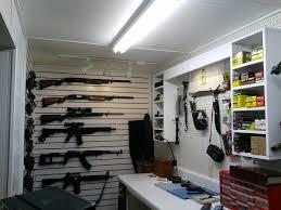 building ammotorage cabinet basement gun room designs awesome