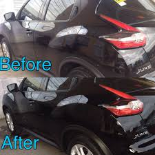 nissan juke black glass coating nissan juke 2016 black samurai carcoating made in