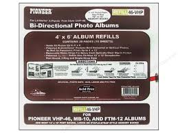 pioneer photo album refills pioneer refill page scrapbook 12x12 with 4x6 pkt createforless