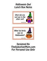 easy halloween lunch box ideas printable lunch box jokes