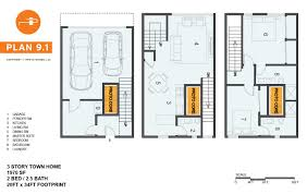 Home Floorplan by Developer Products Proto Homes