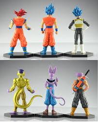 dragon ball figures set 6 pcs free shipping worldwide