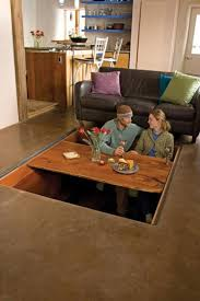 Hidden Dining Table Cabinet Secret Dining Table House Tiny Houses And Future