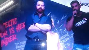sheamus and jon abraham fight in the india youtube