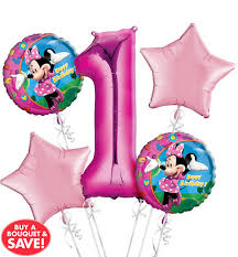 balloon delivery baton minnie mouse balloons party city