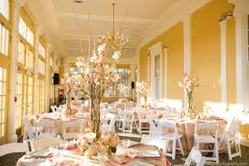 beautiful wedding reception decor in the mansion house at maryland