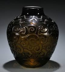 Deco Vase Daum Art Deco Vase Sale Number 2603b Lot Number 216 Skinner