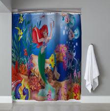 The Little Mermaid Shower Curtain Disney High Quality Jigsaw Puzzles Luminous Little Mermaid Ebay