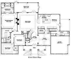 5 bedroom home floor plans simple 5 bedroom house plans home planning ideas 2017 best 7 floor