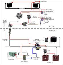 camper trailer battery wiring diagram dolgular com