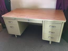 Small Tanker Desk Steelcase Desk Ebay