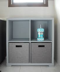 bathroom storage cabinet makeover the gunny sack