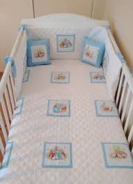 peter rabbit baby bedding set blue and pink beatrix potter baby
