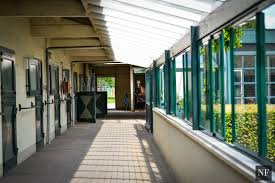 u shaped barn with glass windows kessler show stables holland