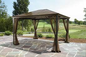 Replacement Awnings For Gazebos Awning Cover Gazebo Replacement Canopy Garden Winds Gazebo