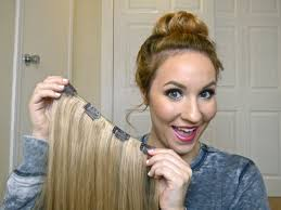 Cheap Thick Clip In Hair Extensions by Diy How To Make Your Own Clip In Hair Extensions Youtube