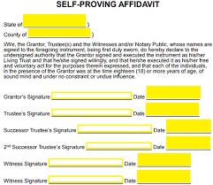 free colorado revocable living trust form word pdf eforms