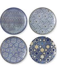 hanukkah plate savings are here 52 hanukkah blue mosaic salad plates