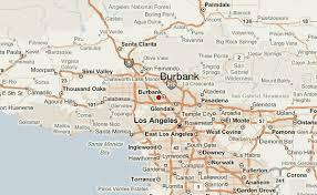 map of burbank ca burbank location guide
